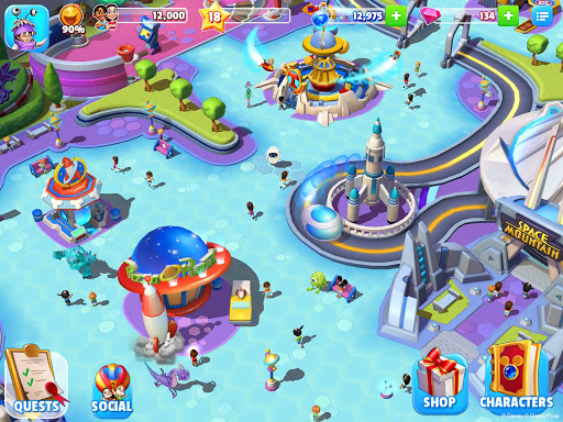 Disney Magic Kingdoms: Build Your Own Magical Park Apkfinish screenshots 18