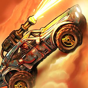 Road Warrior: Nitro Car Battle &amp Combat Racing