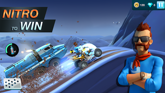 MMX Hill Dash 2 Mod Apk (Unlimited Money) 11.00.12075 3