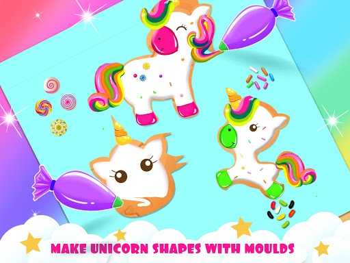 Unicorn Cookie Baker Kitchen apklade screenshots 1