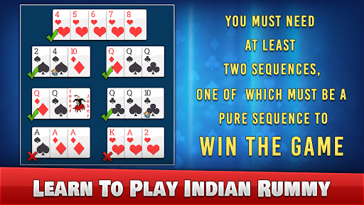 Indian Rummy - Play Rummy Game Online Free Cards 7.7 screenshots 13
