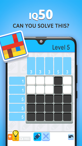 Nonogram - Logic Pic Puzzle - Picture Cross modiapk screenshots 1