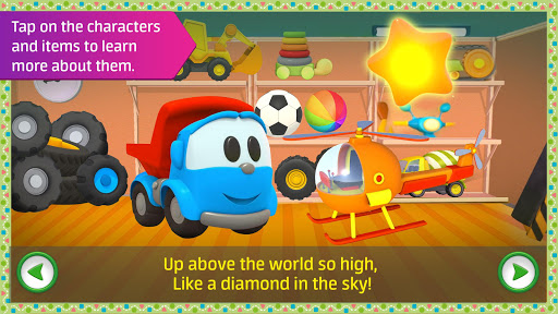 Leo the Truck: Nursery Rhymes Songs for Babies Apkfinish screenshots 12