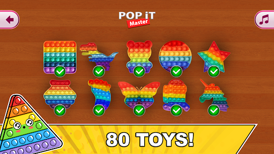 Pop it Master - antistress fidget toys calm games 0.0.2 Screenshots 9