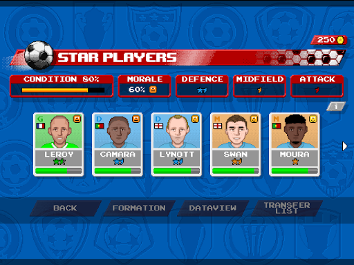 Retro Goal Apkfinish screenshots 13