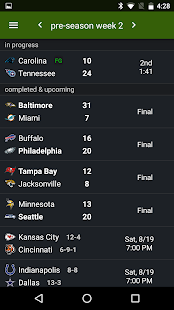 Sports Alerts - NFL edition Screenshot