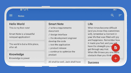 Smart Note Mod Apk- Notes, Notepad, Todo (Premium Features Unlocke) 9