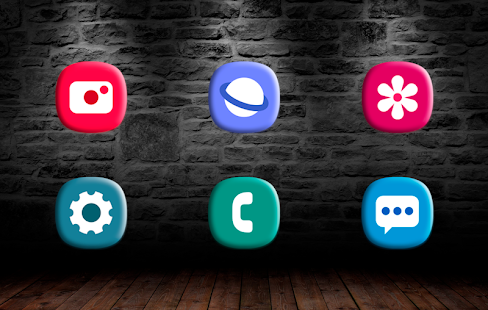 Soft One UI icon pack Screenshot