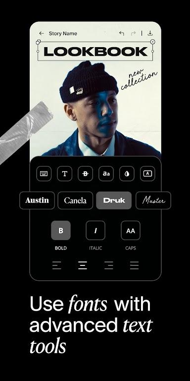 Unfold — Story Maker & Instagram Template Editor poster 6