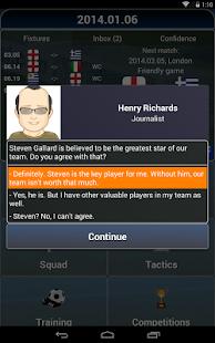 True Football National Manager