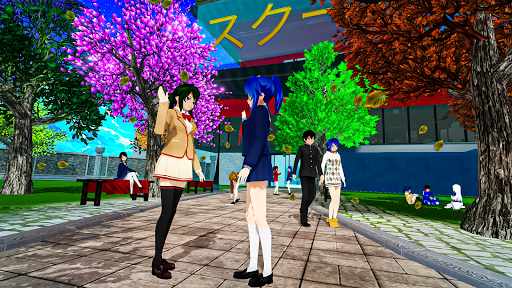 Anime High School Life Days Yandere Girl Simulator screenshots 15