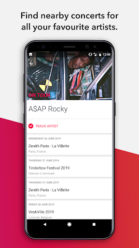 Songkick Concerts android2mod screenshots 3