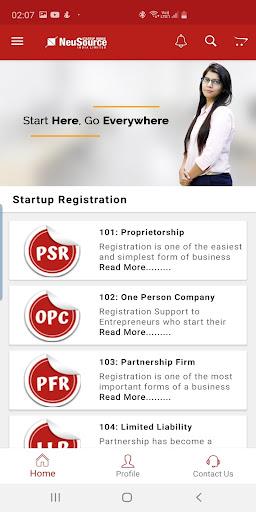 neusource startup minds india limited screenshot 3