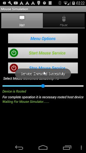 Foto do Mouse Demo Simulation Bluetooth