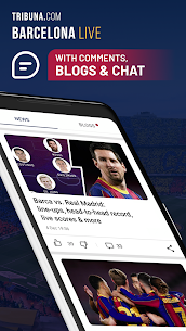 Barcelona Live: Unofficial App for football fans 1