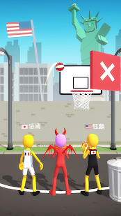 Five Hoops - Basketball Game screenshots 2