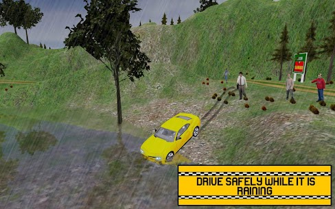 Hill Taxi Simulator Games: Free Car Games 2020 9