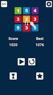Swap n Merge Numbers: Match 3 Block Puzzle
