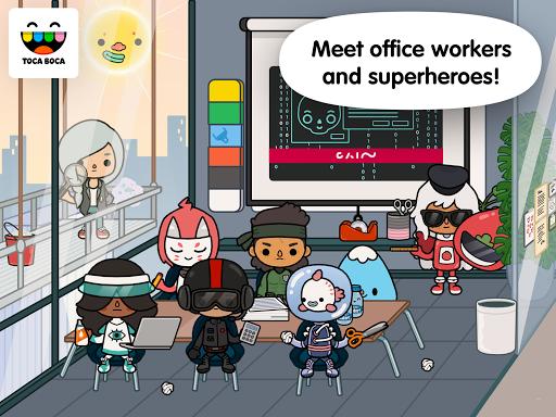 Toca Life: Office  screenshots 4