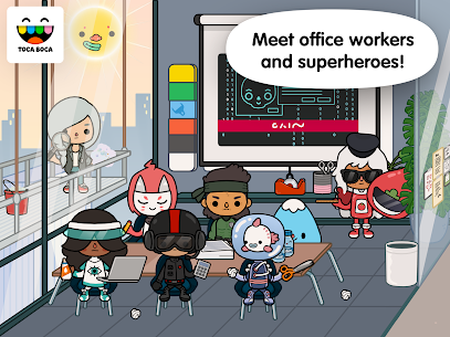 Toca Life: Office Free Apk Download 4