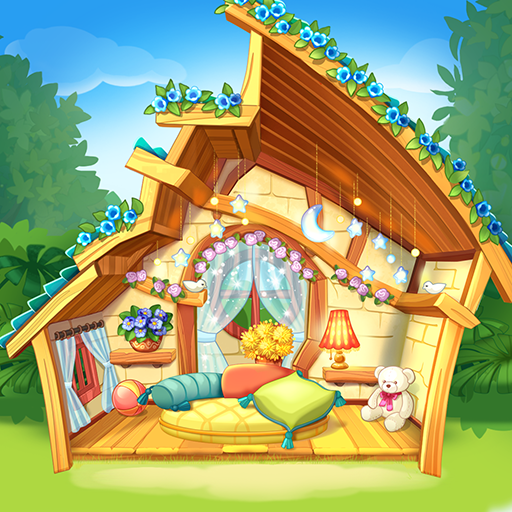 Bloomberry match-3 story. Merge fruits & decorate!