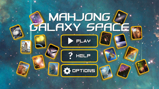 Mahjong Galaxy Space: astronomy mahjongg solitaire screenshots 1