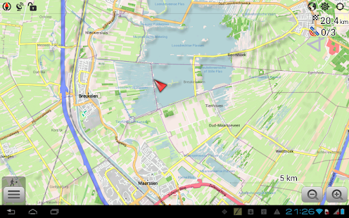 OsmAnd+ — Offline Maps, Travel & Navigation Screenshot