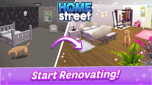 Home Street u2013 Home Design Game apkslow screenshots 2