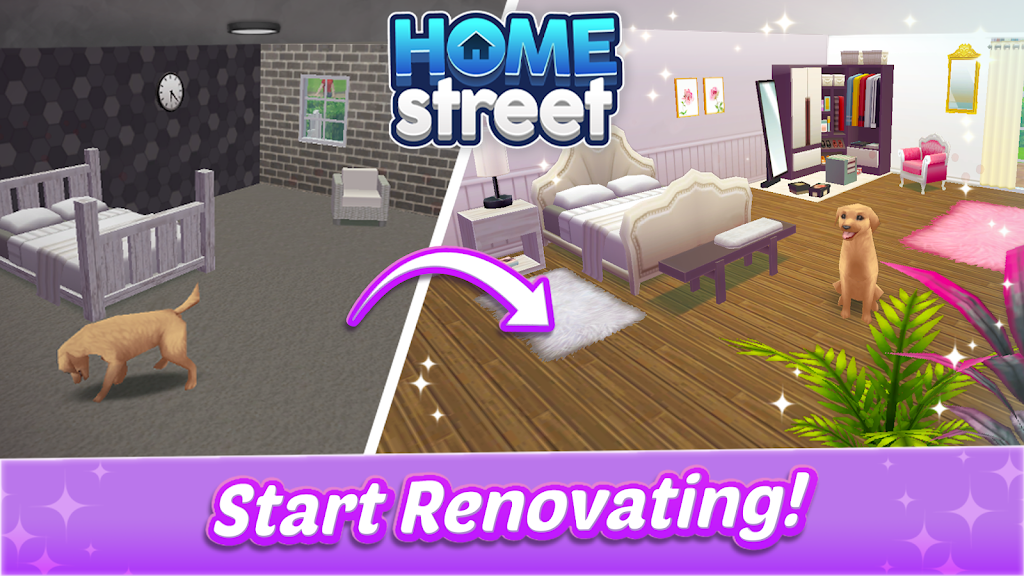 Home Street – Home Design Game  poster 1