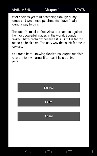 Magium - D&D Inspired Text Adventure RPG (CYOA) 2.06 screenshots 13