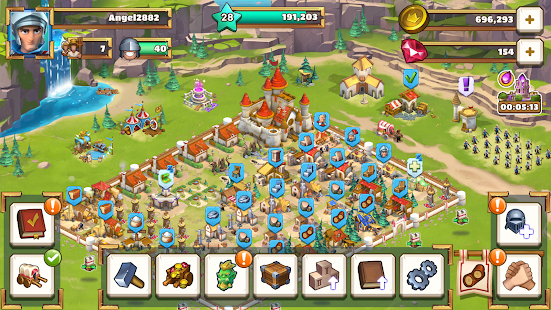 Empire: Age of Knights - Fantasy MMO Strategy Game 2.7.8979 Screenshots 5