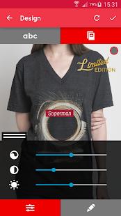 T-shirt design - Snaptee 1.1.7.4 Screenshots 4