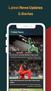Cricket Exchange - Live Score & Analysis Screenshot