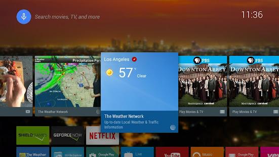 The Weather Network TV App screenshots 1