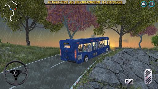 Télécharger Gratuit Bus moderne Simulateur 3D-Nouveau bus Parking Jeux APK MOD (Astuce) screenshots 1