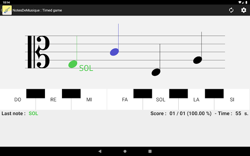 NotesDeMusique (Learning to read musical notation) goodtube screenshots 4