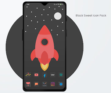 Black Sweet APK- Icon Pack (PAID) Download Latest Version 2