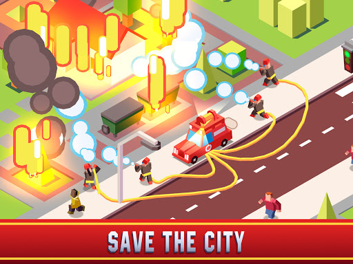 Idle Firefighter Empire Tycoon - Management Game modavailable screenshots 13