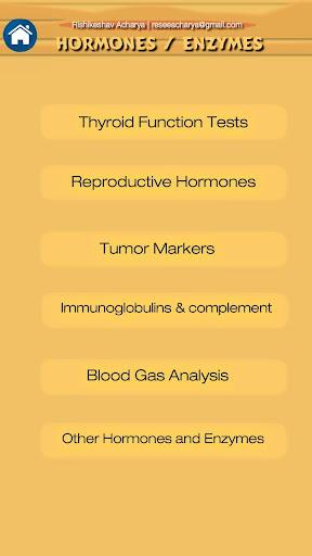 Lab Test Reference Range (Free & Offline)  Screenshots 4