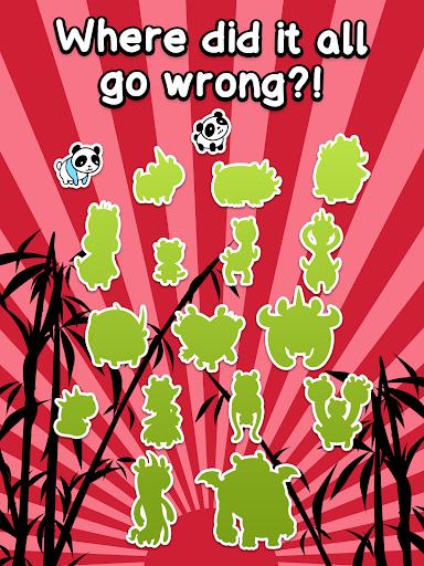Panda Evolution - Cute Bear Making Clicker Game screenshots 8