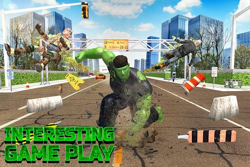 Incredible City Monster Hero Survival 3.3 screenshots 4