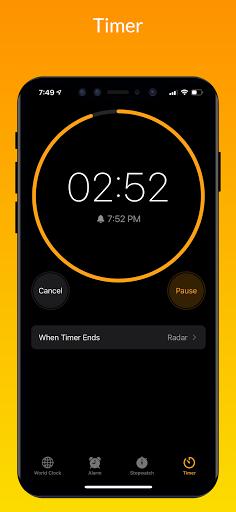 iClock iOS - Clock iPhone Xs, Phone 13 android2mod screenshots 6