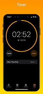 iClock iOS Mod Apk- Clock iPhone Xs (Pro Features Unlocked) 6