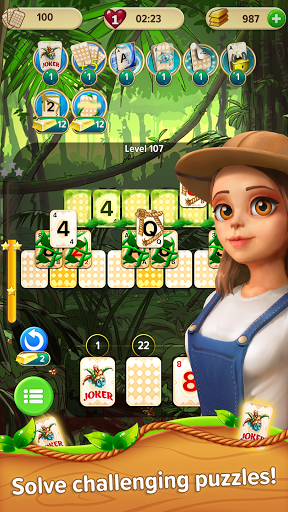 Little Tittle u2014 Pyramid solitaire card game 1.78 screenshots 2
