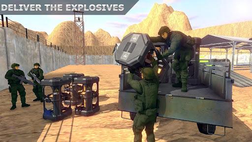 military truck simulator game 3d: cargo transport screenshot 1