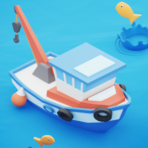 Fish idle: hooked tycoon Fishing boat, hooking