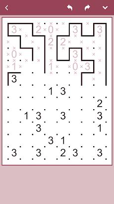 コンセプティス 囲いパズルのおすすめ画像1
