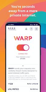1.1.1.1 MOD APK (WARP+ Unlimited MOD) 2
