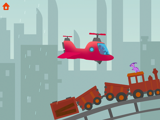 Dinosaur Helicopter - Games for kids  screenshots 16