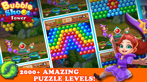Bubble Tower Legend - Bubble Shooter Magic Pop Apkfinish screenshots 5